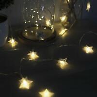Star Fairy String Lights 34Ft USB Leds Warm LED Twinkle For Indoor & O