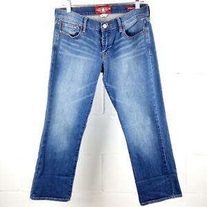 Lucky Brand Sweet'N Crop Jeans Women Size 4/27 Blue