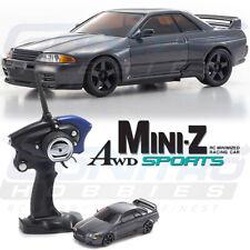 Kyosho MINI-Z AWD MA-020S Nissan Skyline GT-R Nismo (R32) Gun Metallic RTR