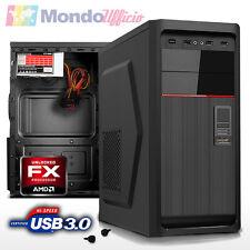 PC Computer Desktop AMD FX 6300 X6 3,5 Ghz 6 Core - Ram 8 GB - HD 1 TB - USB 3.0