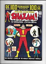 SHAZAM! #8 [1973 FN-] 1ST BLACK ADAM APP REPRINTED!