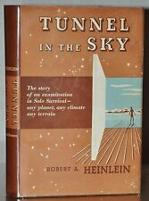 *SIGNED* 1ST/1ST EDITION W. DUST JACKET~ TUNNEL IN THE SKY ~ ROBERT HEINLEIN