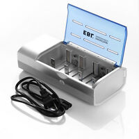 Universal Battery Charger For 9V AA AAA C D Size Ni-MH/Cd Rechargeable Batteries