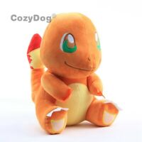 12'' Charmander Plush Toy Soft Stuffed Animal Doll 30cm Big Figure Kids Gift