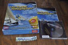 VIRTUAL SKIPPER SKIPER COFFRET BIG BOX /  PC CD-ROM PAL COMPLET