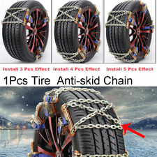 Steel Snow Tire Chain for Car Truck SUV Wheel Anti-Skid Emergency Winter Driving