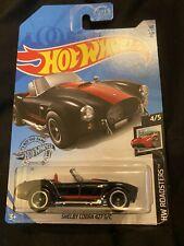 New Listing2020 Hot Wheels Hw Roadsters 4/5 Shelby Cobra 427 S/C Black #191 New Near Mint
