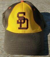 Vintage San Diego Padres Velcro Back Youth Hat Sponsored by Nextel Baseball Hat