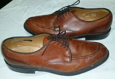 Allen Edmonds Bradley Split Toe Dress Shoes Chili Brown size 10