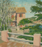 20th Century Oil - Pink House