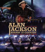 ALAN JACKSON: KEEPIN' IT COUNTRY - LIVE AT RED ROCKS NEW DVD