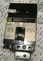 SQUARE D I-LINE CIRCUIT BREAKER 50 AMP 600V 3 POLE FH36050