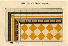 Stampa antica PAVIMENTO A MOSAICO Piastrelle Mattonelle C 713 1910 Antique print