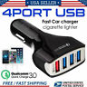 4-Port USB 4.2A Fast Car Charging Adapter Quick Charger for Phone New US