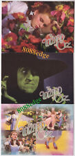 """2006 BREYGENT """"THE WIZARD OF OZ"""" SERIES 2 PROMO PROMOTIONAL SAMPLE 3 CARD LOT"""