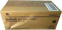NIB, Genuine Konica Minolta TNP24 (A32W011) Black Toner Cartridge Bizhub 20/20P