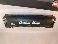 "Intermountain HO Canadian Pacific CP 50' Cyl Hopper Black ""Script"" #382722"