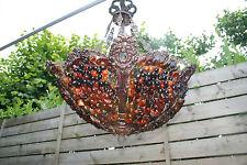 Murano Venetian Art Glass Grape Clusters Chandelier 1950 Italian rare unusual