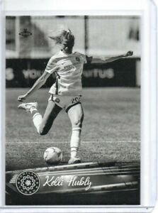 2021 Parkside NWSL Black & White Parallel Kelli Hubly #125 Women's Soccer