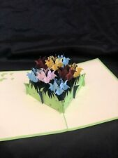 Mother's Day Flower Bunch 3D Pop Up Card Love Spring Birthday Anniversary