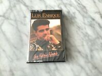 Luis Enrique Una Historia Diferente Cassette Tape SEALED! ORIGINAL 1991 NEW!