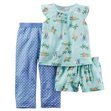 NWT Girls 5T CARTER'S  3-Piece Tropical Pajama Set CUTE ~ L@@K!
