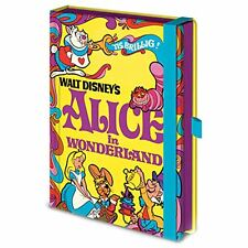 Officially Licensed Walt Disney Vintage Princess Alice in Wonderland A5 Notebook