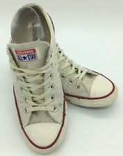 Converse Chuck Taylor All Star Ox Off White Sparkle Lace Up Womens US 9 EU 7