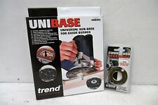TREND UNIBASE ROUTER ADAPTOR FOR GUIDE BUSHES + GB30 GUIDE BUSH