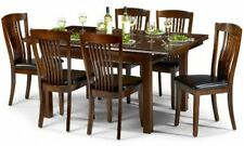 Mahogany Up to 6 Seats Table & Chair Sets with Extending