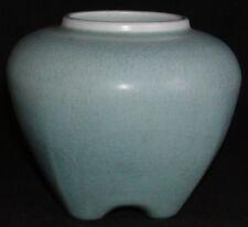 Rookwood Pottery 1918 Matte Green Rose Jar 1322-Arts & Crafts-No Lid, Base Only