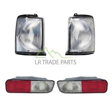 LAND ROVER DISCOVERY 2 FRONT & REAR CLEAR INDICATOR LAMPS LIGHT SET (1998-2004)