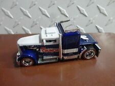 Loose Hot Wheels Blue/White Nestle's Crunch Convoy Custom w/RR's
