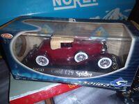 SOLIDO REF 4080 Cord L29 Spider 1/43 NEUF EN BOITE