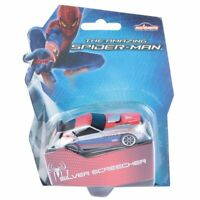 2x The Amazing Spiderman 1:64 Diecast Car Styles will Vary