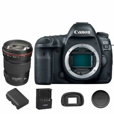Canon EOS 5D Mark IV DSLR Camera Body with EF 135mm f/2L USM Lens