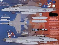 Fightertown 1/48 Boeing F/A-18E F/A-18F Super Hornets VX-23 Salty Dogs Strike Te