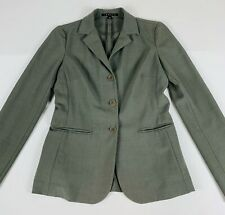 Theory 3 Button Blazer Wool Blend Women's Small Used #D
