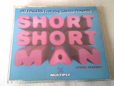 20 FINGERS - SHORT SHORT MAN - 5 MIX DANCE CD SINGLE