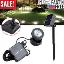 Solar Power 6 LED Underwater Spotlight Light Outdoor Garden Swimming Fish Pool