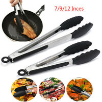 Cooking Tongs BBQ Steak Salad Serving Tongs Non Stick Cooking Utensils