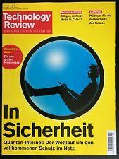 NEU! Technology Review – DAS MAGAZIN FÜR INNOVATION – Oktober 10/2016