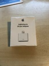 Genuine Apple Lightning To 30 Pin Adapter for iPod IPhone iPad (MD823ZM/A) A1468