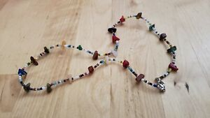 """Collectible HAND CRAFTED  MULTI-STONE  NECKLACE 19"""" LONG."""