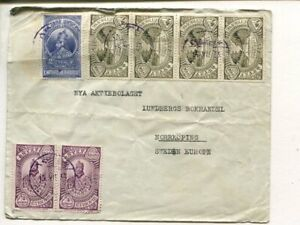 Ethiopia cover to Sweden 28.7.1933