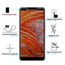 For Nokia 3.1 Plus Premium Shockproof Tempered Glass Screen Protector LCD Guard