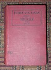 1937 The Ford V8 Cars and Trucks: Construction, Operation, Repair illustrated