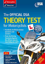The Official DSA Theory Test for Motorcyclists by Driving Standards Agency (Paperback, 2012)