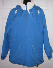 Vintage Woolrich Womens Blue & White Fall / Winter Jacket  M