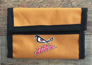 No Fear Logo Retro Vintage 1990's Orange Folding Wallet Unisex
